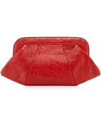 Lauren Merkin - Tatum Leather Evening Clutch Bag - Lyst
