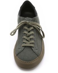 6397 - Two-Toned Canvas Low-Top Sneakers - Lyst