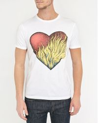 Commune De Paris 1871 | White Heart T-shirt | Lyst