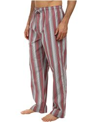 Calvin Klein Gray Pajama Pant - Lyst