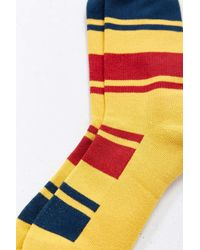 Pendleton - National Park Stripe Crew Sock - Lyst