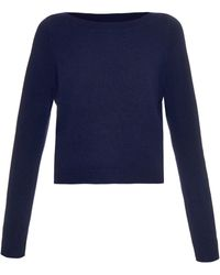 OSMAN - Cashmere-knit Cropped Sweater - Lyst