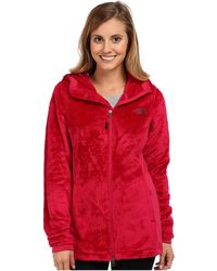 The North Face Red Osito Parka - Lyst
