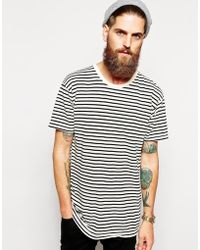 American Apparel Stripe T-shirt - Lyst