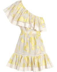 Rebecca Taylor   Ella Fil Coupe One Shoulder Dress   Lyst