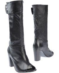 Lemarè High-Heeled Boots - Lyst