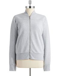 Alternative Apparel - Quilted Zip Up - Lyst