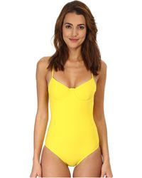 Marc By Marc Jacobs Sophia Underwire One-Piece - Lyst