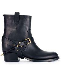 Ralph Lauren Collection Vachetta Isara Boot - Lyst