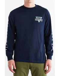 Vans Triangle Off The Wall Long-sleeve Tee - Lyst