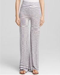 Moon & Meadow - Space Dye Trousers - Lyst