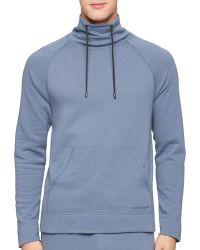 Calvin Klein Pullover Top blue - Lyst