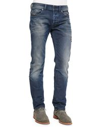 Diesel Safado Foam Wash Straight-Leg Denim Jeans - Lyst