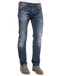 Diesel Safado Foam Wash Straight-Leg Denim Jeans - Lyst