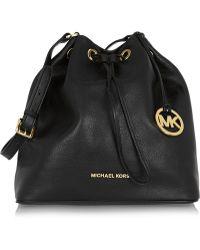 4f118148127b MICHAEL Michael Kors - Jules Large Textured-Leather Bucket Bag - Lyst