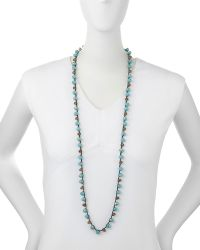 An Old Soul - Faceted Bead Necklace - Lyst