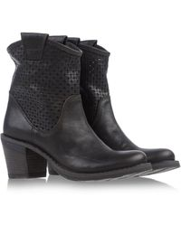 Fiorentini + Baker Ankle Boots brown - Lyst