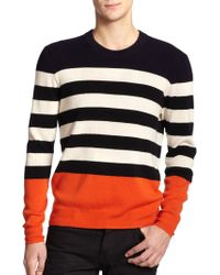 Burberry Brit Elmer Striped Cashmere Sweater - Lyst