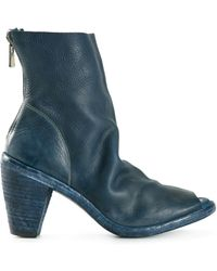 Guidi Full Grain Heeled Boots - Lyst