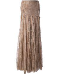 Anne Valerie Hash - Lace Maxi Skirt - Lyst