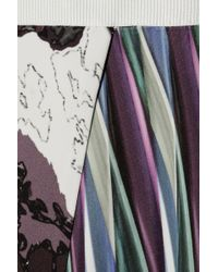 Peter Pilotto - Printed Stretch-woven Skirt - Lyst