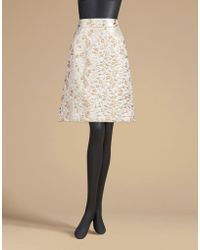 Dolce & Gabbana | A-line Skirt In Lurex Brocade | Lyst