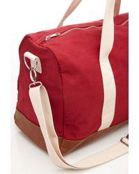 Forever 21 - Canvas Messenger Bag - Lyst