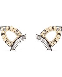 Erickson Beamon - 'stratosphere' Pearl Cat Ear Hair Comb Set - Lyst