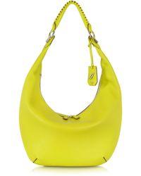 Diane von Furstenberg - Sutra Crescent Leather Hobo Bag - Lyst