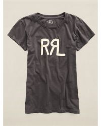 RRL Cotton Graphic Tee - Lyst