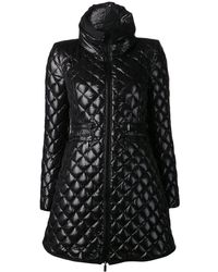 Moncler Black Quilted Jacket - Lyst