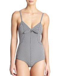 Lisa Marie Fernandez One-Piece Poppy Maillot Swimsuit - Lyst