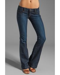 Frankie B. Jeans Prepster Slim Boot in Kyoto - Lyst