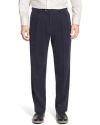 Tommy Bahama | 'new St. Thomas' Silk Blend Pleated Pants | Lyst