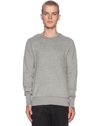Wings + Horns Double Brushed Fleece Crewneck Sweater - Lyst