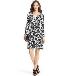 Diane Von Furstenberg T72 Silk Jersey Wrap Dress - Lyst