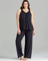 Midnight By Carole Hochman - Plus Braided Jersey Pyjama Set - Lyst