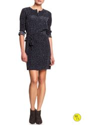 Banana Republic Factory Leopard Print Dress - Lyst