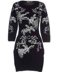 Piccione.piccione Short Dress black - Lyst