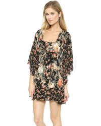 Free People Heart Of Gold Dress - Moonlight Garden Combo - Lyst