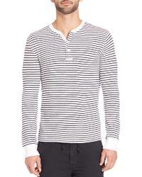 Polo Ralph Lauren   Long Sleeve Striped Henley   Lyst