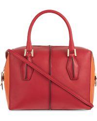 Tod's D-cube Mini Shopper Bag - Lyst