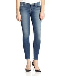 J Brand Mid-Rise Skinny Jeans - Lyst