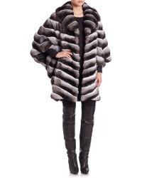 The Fur Salon | Chinchilla Fur Coat | Lyst