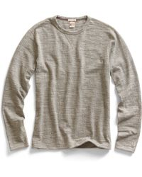 Todd Snyder X Champion Long Sleeve T-shirt in Grey Heather - Lyst