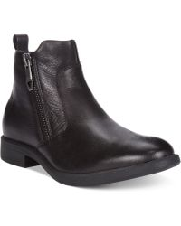 Guess Paulie Slip-on Boots - Lyst