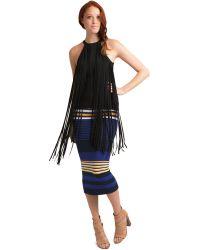 Torn Ronny Striped Skirt - Lyst