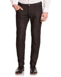 Emporio Armani Jude Five-Pocket Jeans black - Lyst