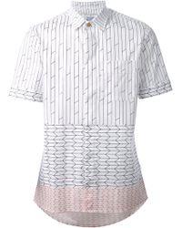 Vivienne Westwood Printed Short Sleeve Shirt - Lyst