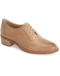 Paul Green 'Courtney' Leather Oxford - Lyst
